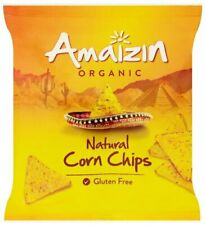 Organic Natural Corn Chips - 75g - Pack of  16