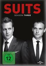 Suits TV Serie Die komplette Season 3 Staffel #3 4 DVD BOX 16 Episoden wie neu