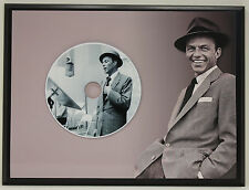 FRANK SINATRA Limited Edition Picture Disc Poster Art Display Free Shipping