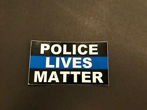 Police Lives Matter Car Truck Window Thin Blue Line Decal FREE SHIP FROM US