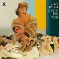 Whatever Julie Wants - Julie London (2016, Vinyl NEUF)