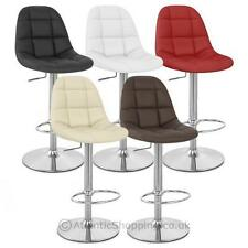 Faux Leather Contemporary Stools Bars
