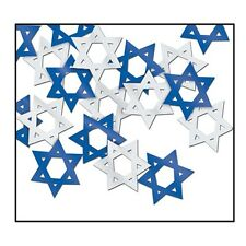 Hanukkah STAR OF DAVID CONFETTI Party Decoration TABLE SCATTER