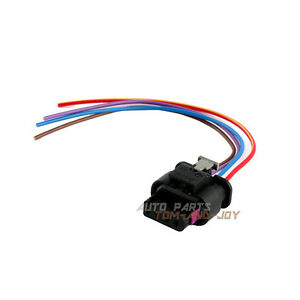 New Connector 4-Way Pigtail for 4F0 973 704 Map Sensor W/ Wire for BMW AUDI VW