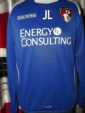 2008-10  Bournemouth Drill Top Training Excellent (M) Shirt Jersey Trikot Maglia