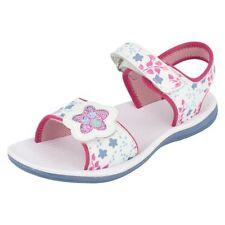 Chaussures blanches en cuir pour fille de 2 à 16 ans pointure 29