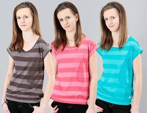 "Protest T-Shirt ""Juno"", Brown Earth, Radical Red, Mystic Blue, Größen: XS - L"