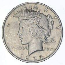 Early - 1922 - Peace Silver Dollar - 90% US Coin *439