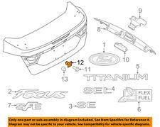 FORD OEM 12-18 Focus Trunk Lid-License Mount Nut W714172S300
