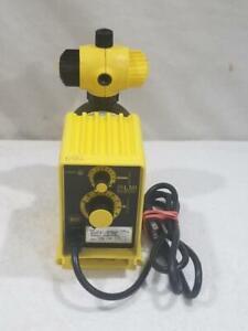 LMI P151-392SI Electromagnetic Dosing Chemical Pump 1 GPH 110 PSI  FREE USA SHIP
