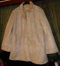 Manteau aspect peau lainée - taille 50/52 - Gabriella Vicenza - NEUF