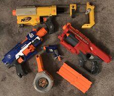 Nerf Guns-Stockade-Cycloneshock-Recon CS 6-Jolt+Ammo Clips