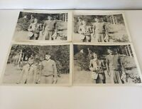 "Lot Of 4 Vintage Photos 1950's  Photos 2 Boys 7"" X 5"""