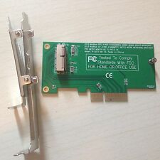 2013 2014 Apple Mac MacBook Pro Air SSD convert PCI-E Converter Adapter Card