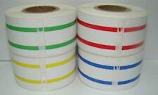 4 RLS Dymo LabelWriter 30327 File Folder 130 Labels P/R 330 Turbo 1RL EA Color