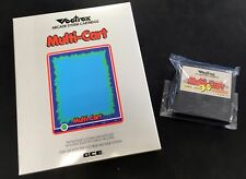 Sean Kelly Vectrex Multi-Cart NEW VERSION 3.0 - BOXED - BRAND NEW!