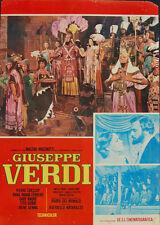 Anna Maria Ferrero Pierre Cressoy GIUSEPPE VERDI fotobusta originale anni '60 #3