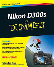 NEW Nikon D300s For Dummies by Julie Adair King