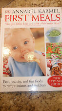 First Meals  (1999) Expanded Edition by Annabel Karmel