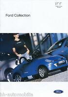 Ford Collection Prospekt brochure 2002 D+GB Broschüre prospectus brosjyre Auto