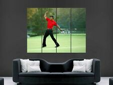 TIGER WOODS GOLF  ART POSTER WALL  PICTURE