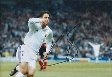 RAUL Raúl Signed Autograph 12x8 Photo AFTAL COA Real Madrid Champions League