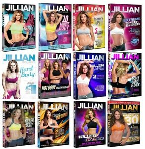 BRAND NEW AUTHENTIC & FACTORY SEALED!! JILLIAN MICHAELS Workout DVD *YOU CHOOSE*