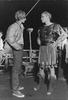 Charlton Heston with so  Fraser. - 8x10 photo