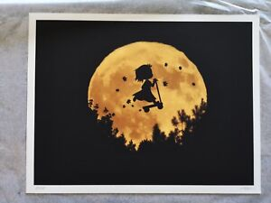 """Art Print by dom - """"Moon Girl"""". Limited Edition: 10"""