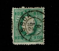 Portugal SC# 36, Used, ctr hole w/ thinning associated with it, see notes -S6559