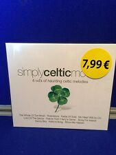 NEW Various Artists - Simply Celtic Moods (2004) Fields of Gold Danny Boy