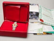 Rolex Oyster Perpetual Datejust Damen Uhr Automatik Stahl/Gold