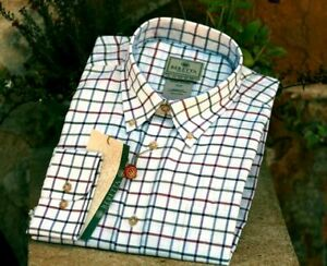 Mens Beretta Classic Shirt - Red Check - New