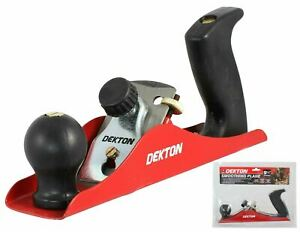 DEKTON  Smoothing Plane, Black/Red To Sand Smooth Wood and Doors