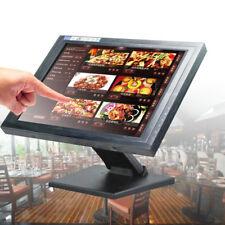"15"" LCD Touchscreen Monitor Kiosk für Kassensystem PC POS Kassenmonitor DEU SALE"