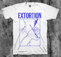 EXTORTION 'Syringe' T shirt Spazz Infest Drop Dead