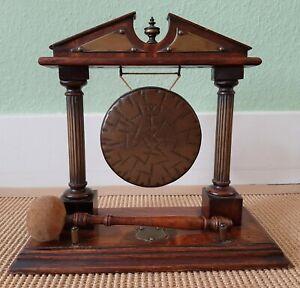 Um 1890 - Antiker BURMESE Tischgong / Dinner Gong / Gong !!!