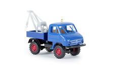 Unimog 411 Abschleppwagen, H0 Auto Modell 1:87, Brekina 39116, TD