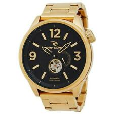 Rip Curl 50mm TITAN XL AUTOMATIC GOLD SSS WATCH Mens Surf Watch New - A2956 Gold
