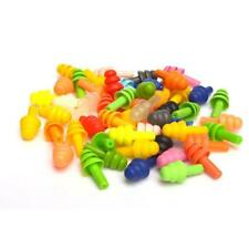 Hot ! Silicone Ear Plugs Anti Noise Snore Earplugs Comfortable For Study  Gift