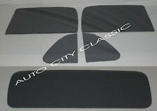 1967 - 1971 Dodge Pickup Glass Vent Door Rear Back Set Custom Grey Tint