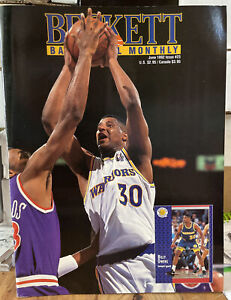 June 1992 Issue #23 Beckett Basketball Billy Owens / Shaquille O'Neal