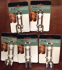 5 Pack Liberty Over-the-Cabinet Single Decorative Hook in Satin Nickel 141777