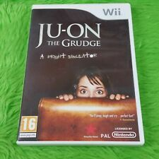 Wii Ju-en el rencor experiencia Genuino Terror Survival Horror PAL VERSION UK