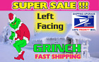 GRINCH CHRISTMAS STEALING Lights Yard Art Grinch FACING LEFT FREE SHIPPING
