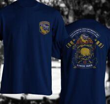 California Firefighter Fire Department Rare Firearm Us T-Shirt Cal Fire Shirt