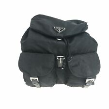 PRADA nylon backpack black used 1081-9.Z
