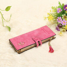 Fashion Lady Women Leather Clutch Wallet Long Card Holder Case Purse Handbag Hot