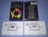 V/A THE HITS ALBUM 10 Double cassette tape album