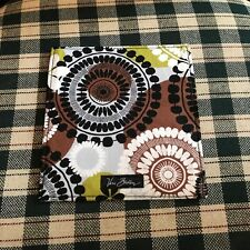 "VERA BRADLEY RETIRED CHECKBOOK COVER ""COCOA MOSS"" NWOT"